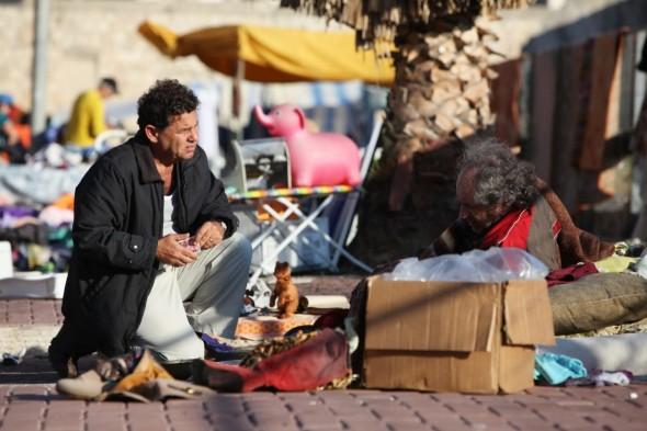 moshe at flea market